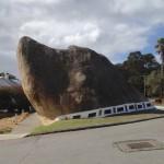 Stein sieht aus wie Hund