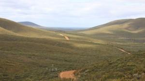 Piste durch den National Park